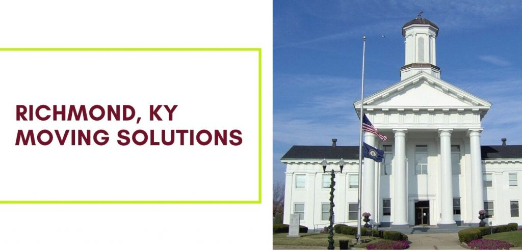 Affordable Local and Long-distance Richmond, KY Moving Solutions